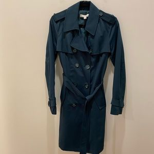 New York & Co. Classic Blue Trench size Medium